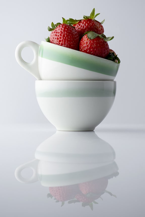 strawberries and teacups winning photograph